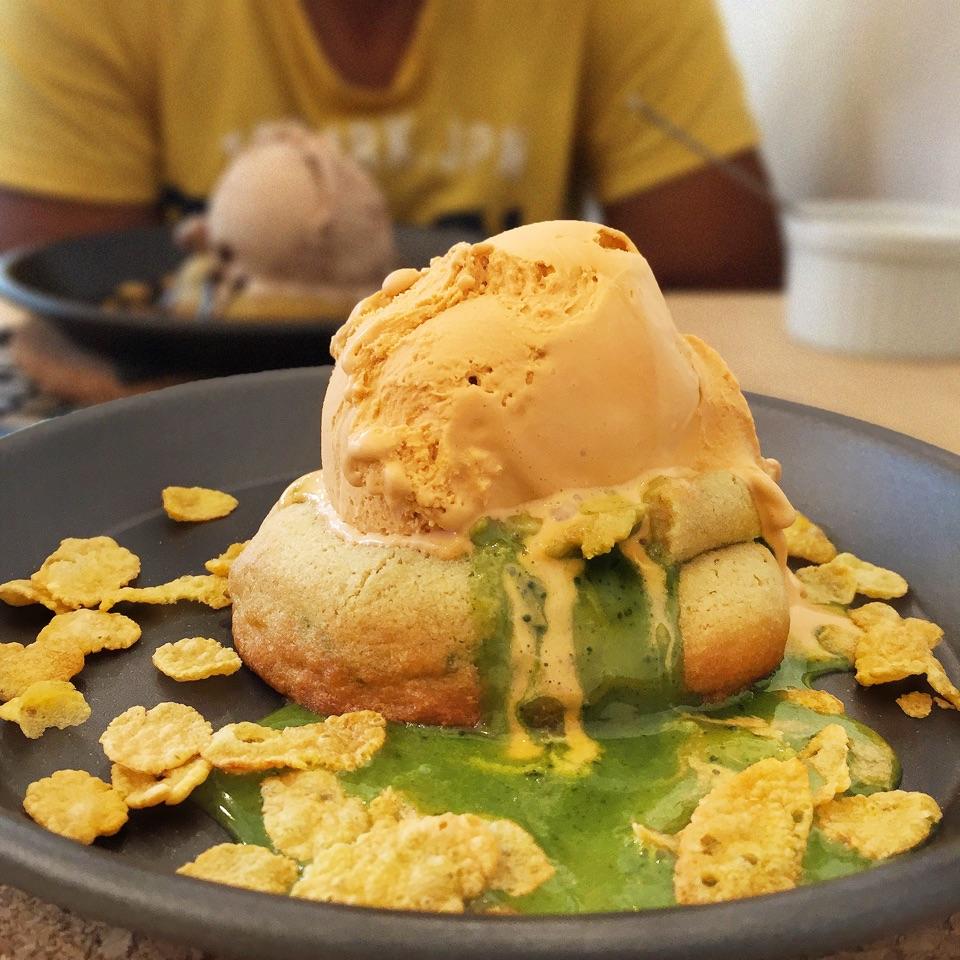 Matcha Lava Cookie ($8.50)
