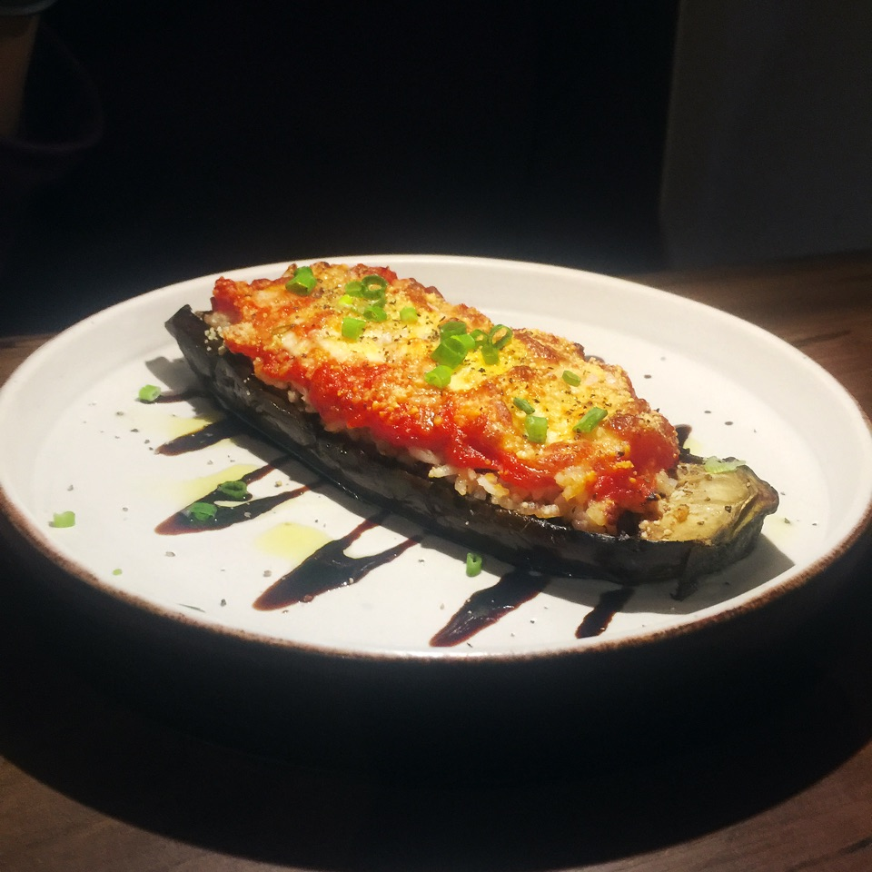 Baked Stuffed Eggplants (S$12)