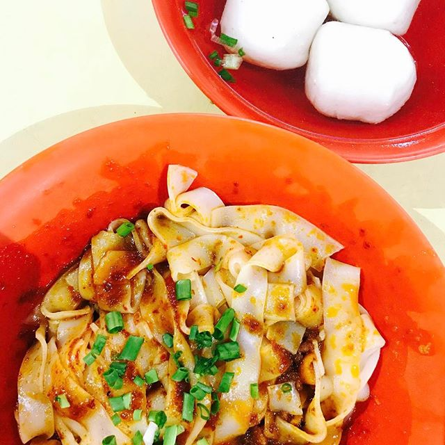 Boing boing fishballsssss from Chao Zhou Fishball Noodles are soo goooddd!