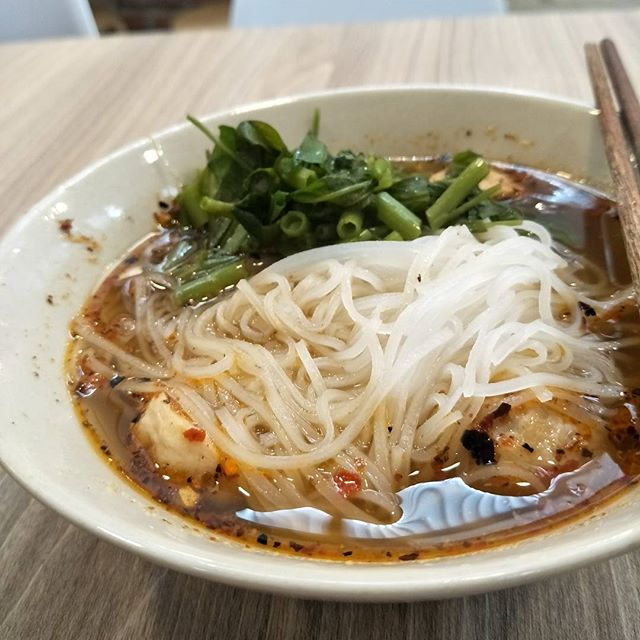 Another Thai boat noodle ($4.80) surfing, but this time in the heartland!