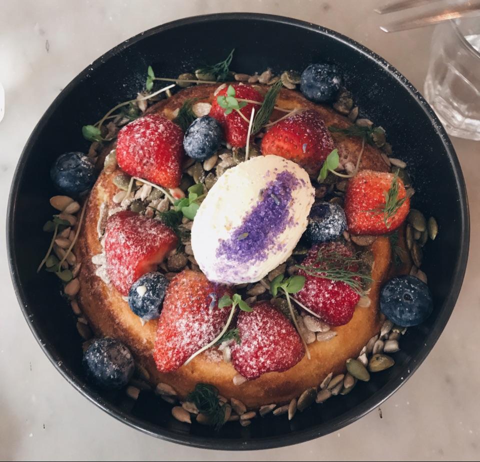 ricotto berry hotcake