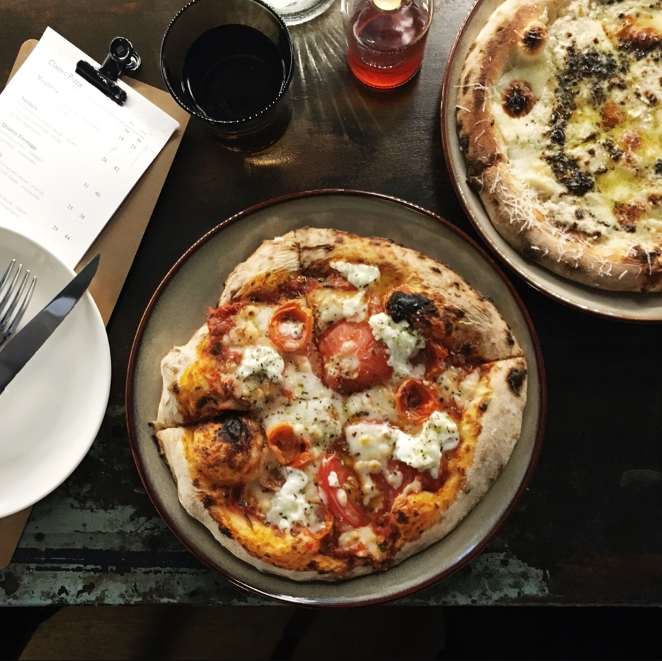 Margherita RM19 | Umbrian Truffle Pizza RM32