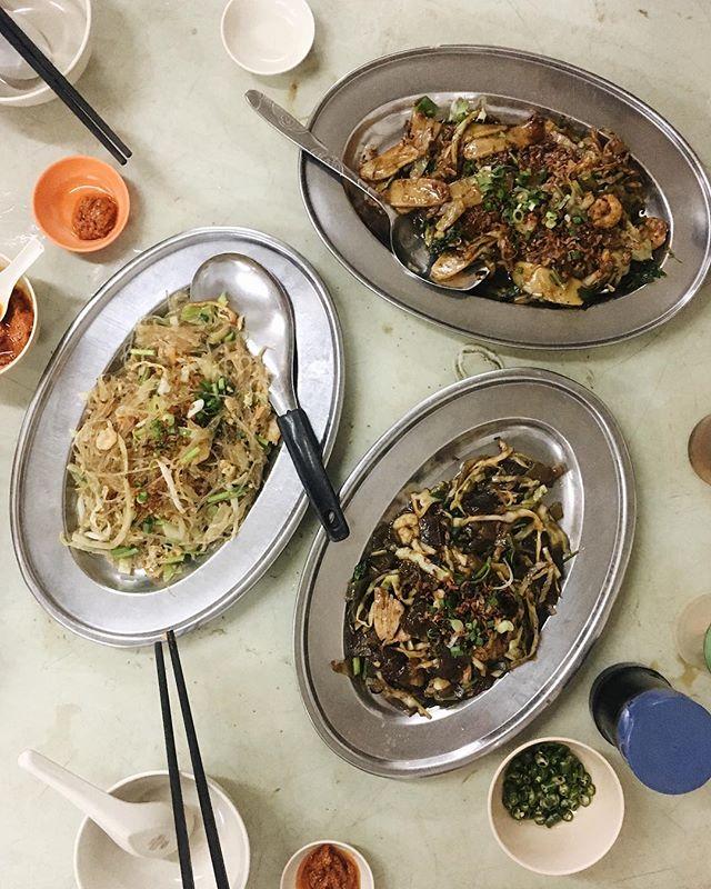 Fried Sweet Potato Flour Noodles | Tang Hoon | Pek Kueh