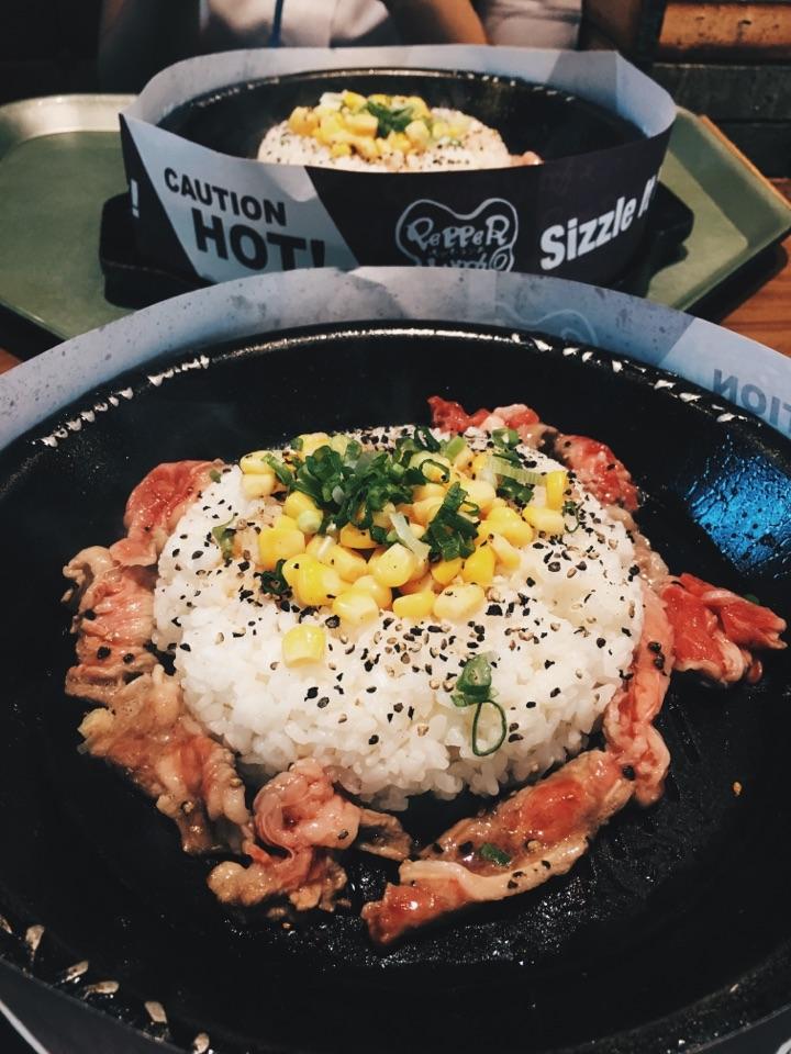 Beef Pepper Rice
