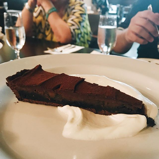 Back to my lunch set (S$48++) - for dessert, I chose the chocolate tart which came dense and chocolatey 🤤 Now, I'm not a huge fan of chocolate but I really liked this tart because it wasn't overtly sweet nor heavy - I think it's a dark chocolate with a tinge of sea salt.