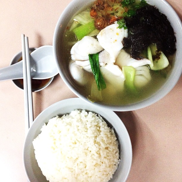 Best Meal For A Rainy Day Sliced Fish Soup With Rice