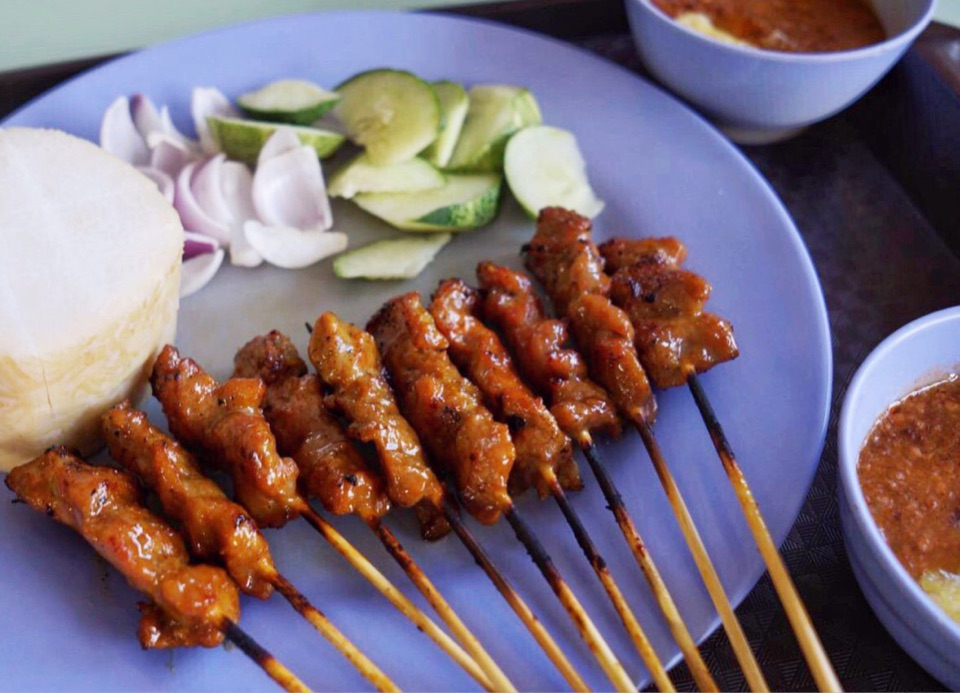 Pork Satay 🐖