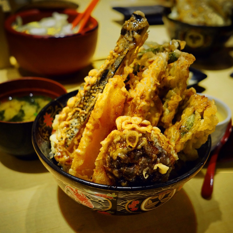 Vegetable Tendon ($12.90)