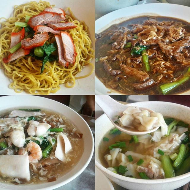 From springy Wanton Noodles with lean char siew to tender Venison Horfun and Seafood Horfun, we 3 conquered them all.