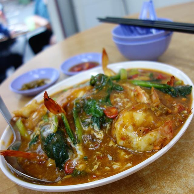 Big prawn Hor fun ($16) - love the sauce which is robust and full of flavours.