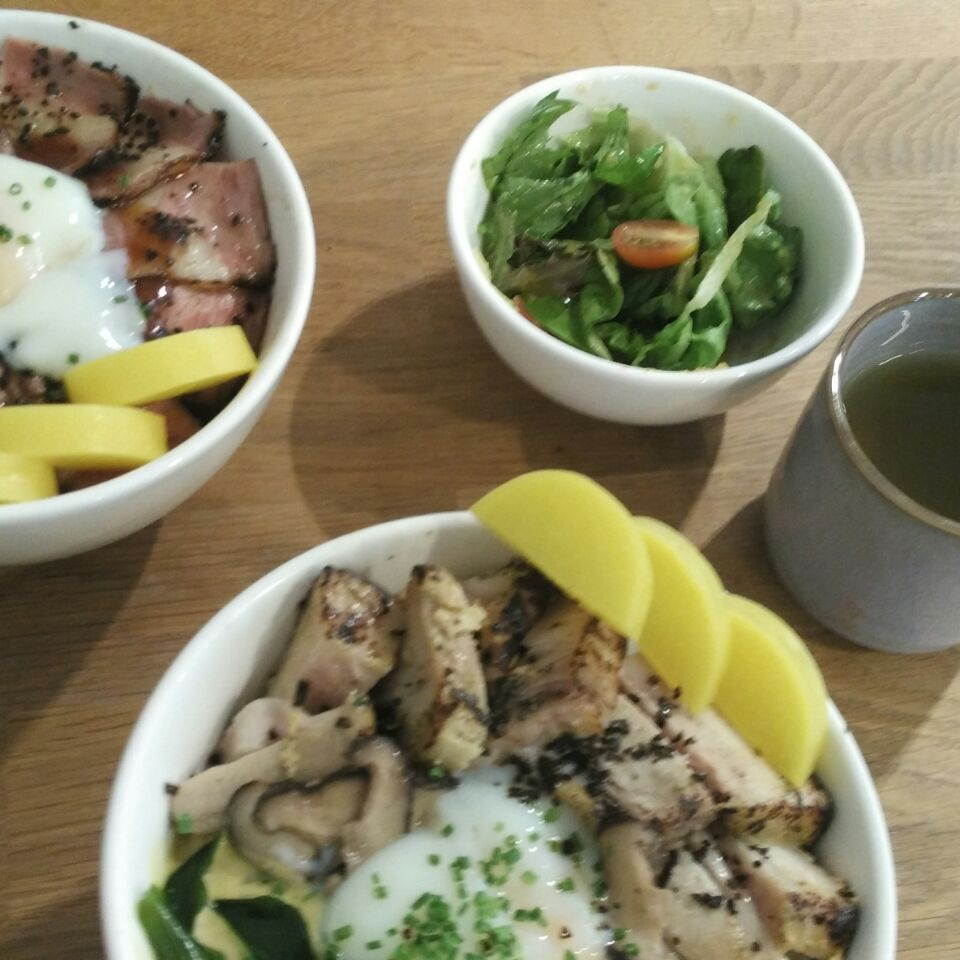 Lunch At Tanuki Raw