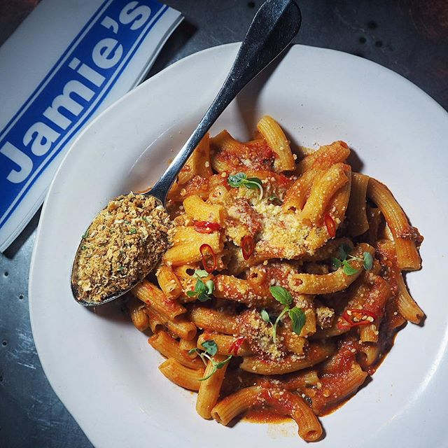 [Jamie's Italian, SG] Had Arrabbiata that doesn't fly?