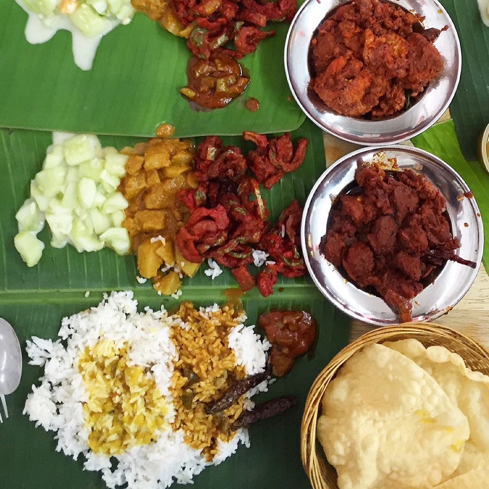 All Time Favourite Banana Leaf Rice
