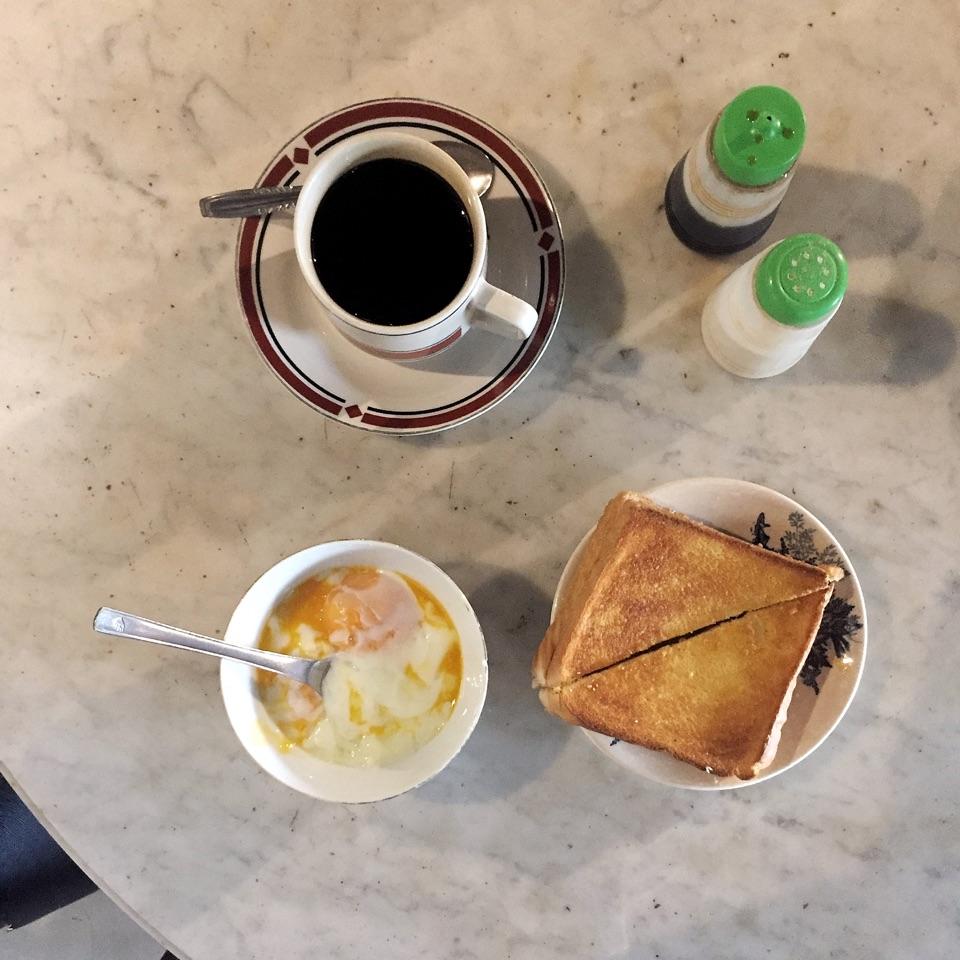 Simple Malaysian Breakfast