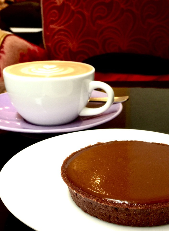 Salted Caramel Tart - Lightly Salted And Not Too Sweet