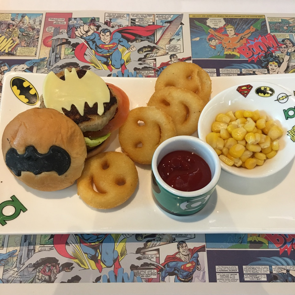Batman Junior Burger