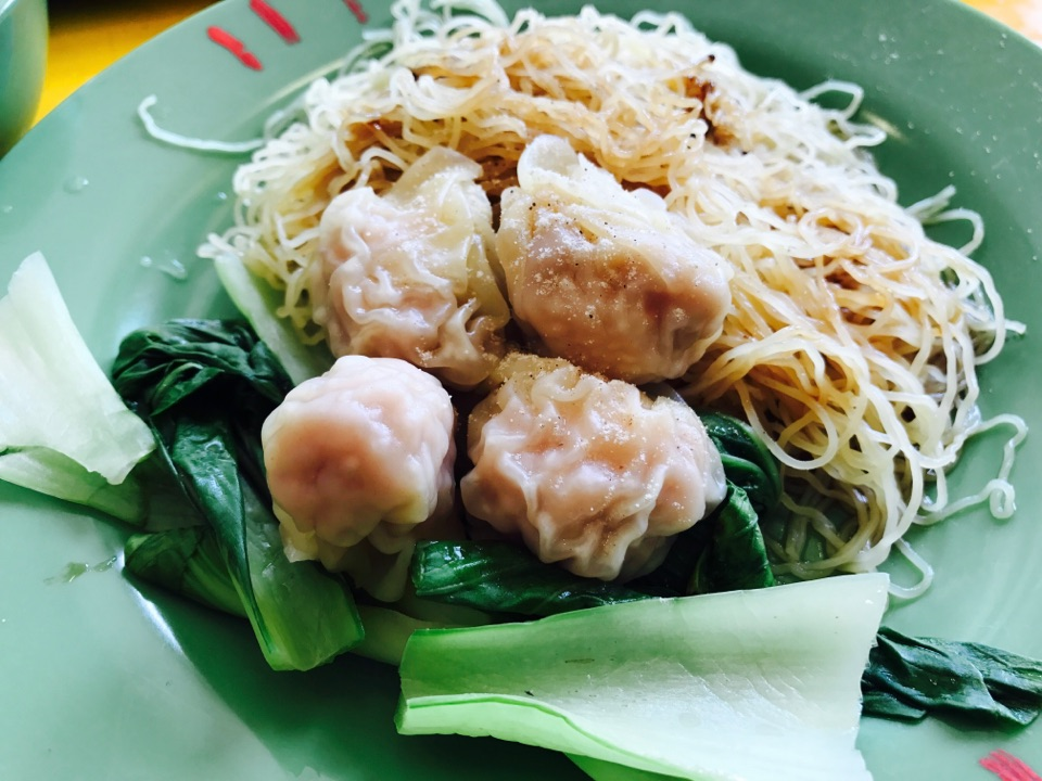 HK Style Wanton Noodles ( Master Tang )