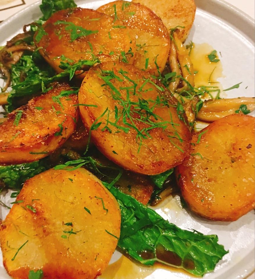 Lamb Fat Potatoes