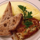 Clinton St. Omelette served with hash browns and sourdough toast  $20