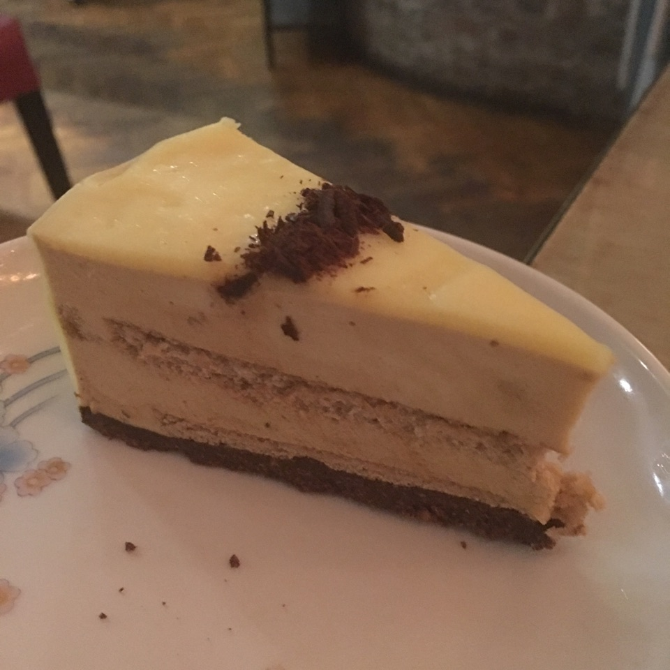 Earl Grey White Chocolate Mousse Cake