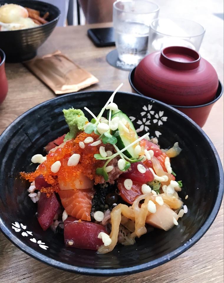 Sashimi Rice Bowl ($17)