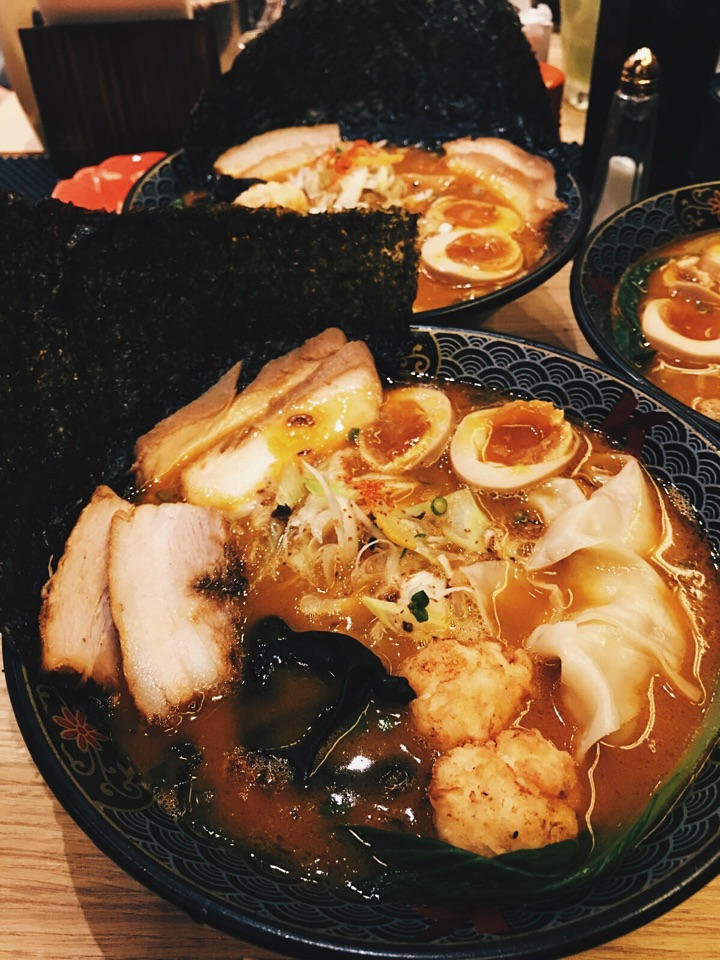 Lobster Broth ramen 😍oishiiii!