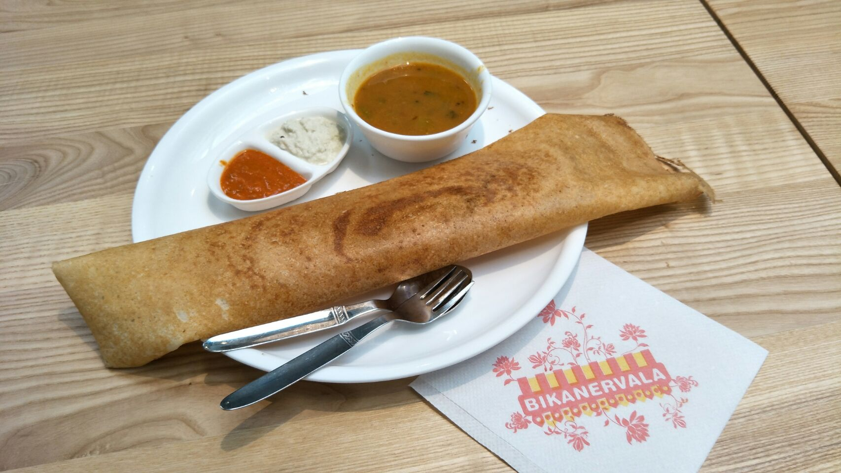 For atas Indian food