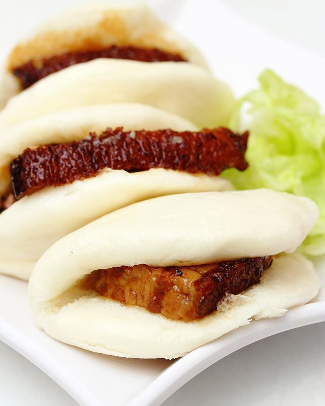 [Lai Huat Signatures] - Braised Pork Belly with Steamed Bun also known as Kong Bak Pau.