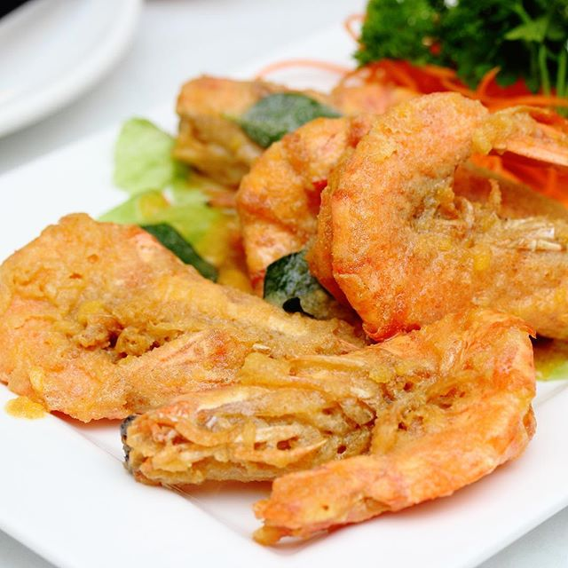 [Lai Huat Signatures] - The Salted Egg Yolk Prawn.