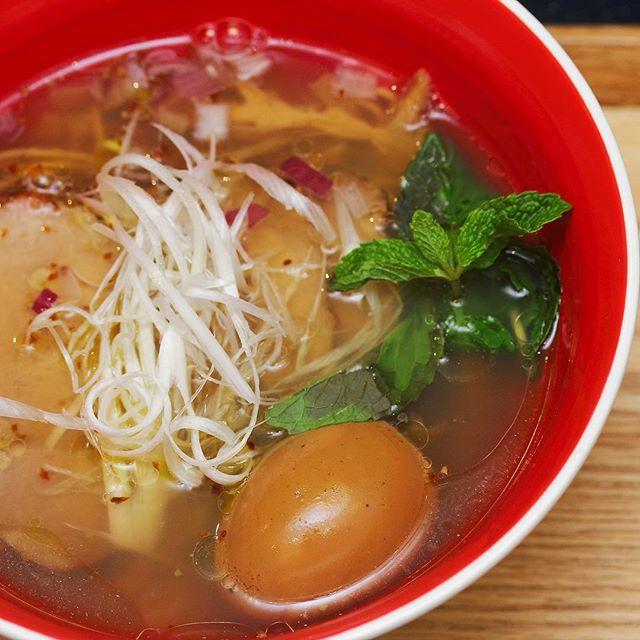 [Tsuta] - craving for a hot bowl of ramen now.