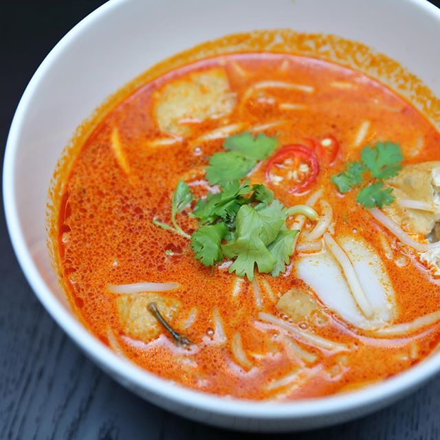 [South Bridge Kitchen] - Head to the Noodle Bar for a bowl of comforting Laksa cooked a la minute by the staff at the live station.