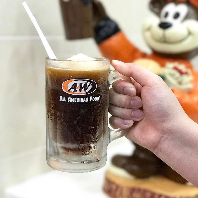 Unspoken rule of visiting A&W wherever.