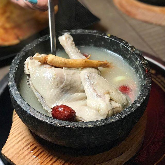 Ginseng Chicken Soup ($17.90)