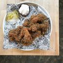 Signature Fried Chicken ($49/whole, $25/half).