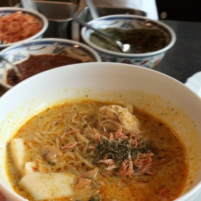Colony's Singapore Laksa with Lobster Ball.