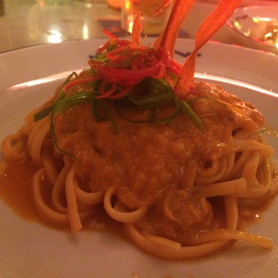 Chilli Crab Pasta ($20+)
