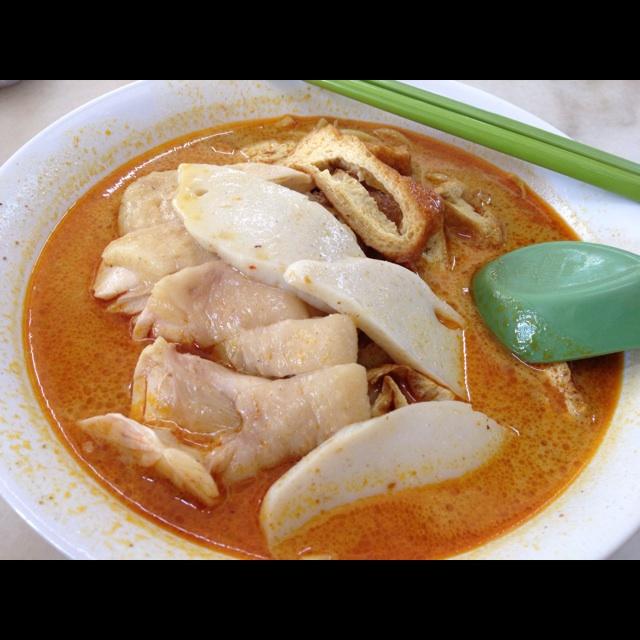 鸡尾curry米粉面 - $5