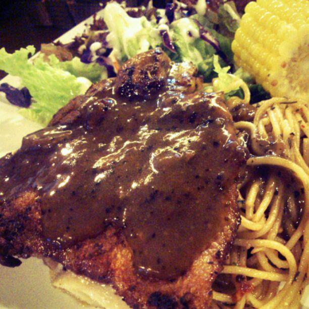 Char Grilled Black Pepper Chicken