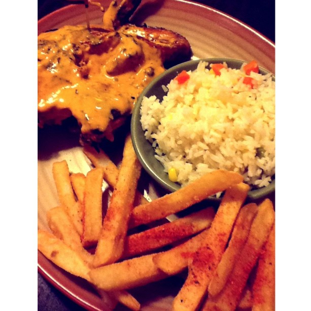 ~Nando's~ 😊 #dinner #yummy #chicken #foodporn #likeforlike #instadaily #picoftheday