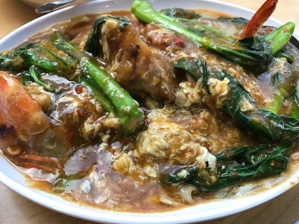 Spicy Big Prawn Hor Fun