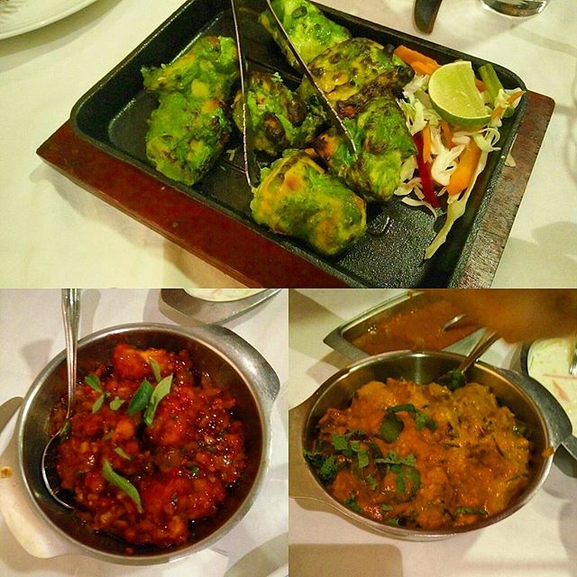 Don't have the #names of the #dishes, but they are #legit examples of #NorthIndian #cuisine.