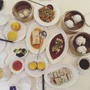 Our dim sum feast during my birthday staycation.