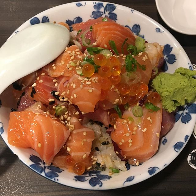 Bara Chirashi Don ($12.90)  Really great value!