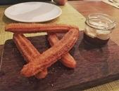 Churros, Gula Melaka Custard Cream and Five Spice Chocolate