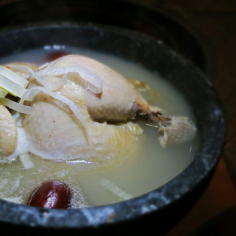 Korean Ginseng Chicken Soup