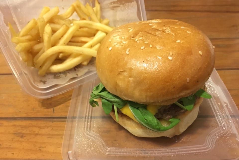 The Gold Standard Burger