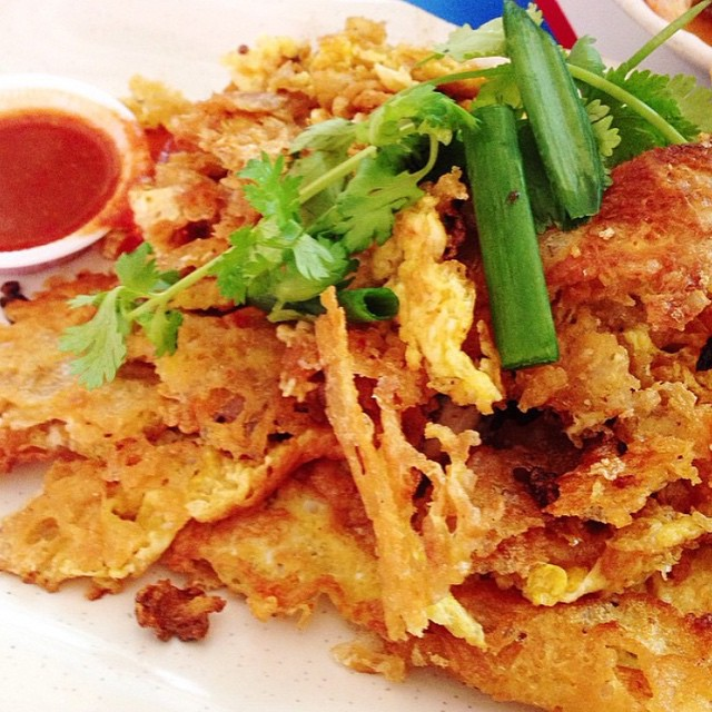 For Oyster Omelette & Char Kway Teow
