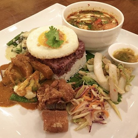For Nasi Campur With A Thai Twist