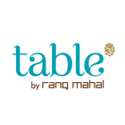 Table by Rang Mahal